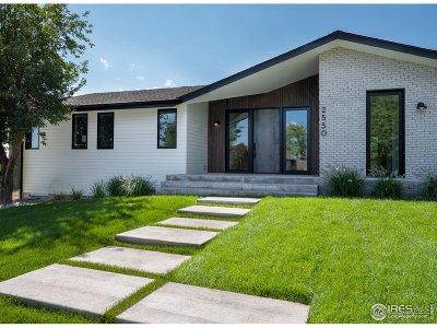 Boulder Single Family Home For Sale: 2550 Balsam Dr
