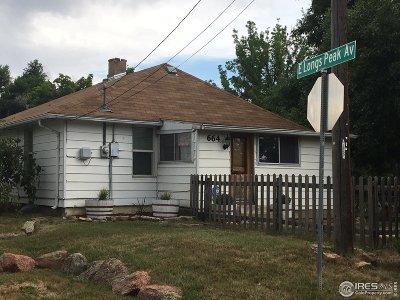 Longmont Single Family Home For Sale: 664 Kensington St