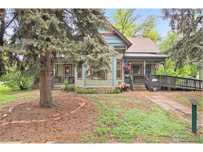 Berthoud Single Family Home For Sale: 548 Mountain Ave