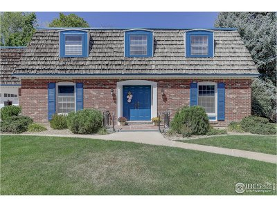 Longmont Single Family Home For Sale: 839 Briarwood Ct