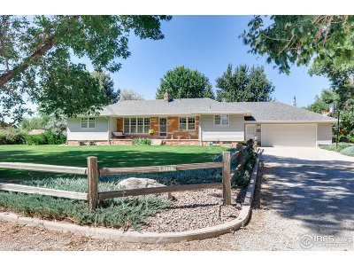 Longmont Single Family Home For Sale: 1316 Highway 66