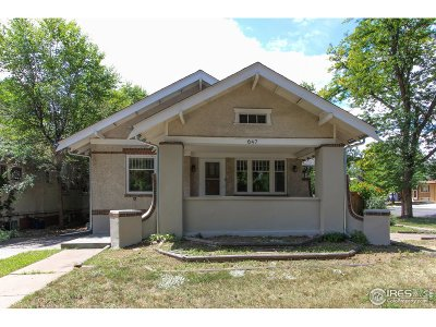 Longmont Single Family Home For Sale: 647 Collyer St