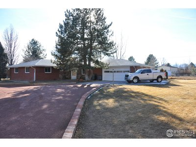 Longmont Single Family Home For Sale: 9799 N 89th St