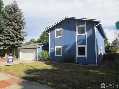 Fort Collins Single Family Home For Sale: 2006 Derby Ct