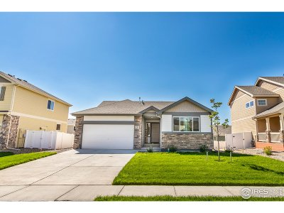 Greeley Single Family Home For Sale: 8804 15th St Rd