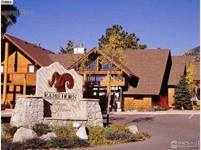 Estes Park Condo/Townhouse For Sale: 1565 Highway 66 #5