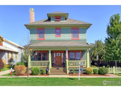 Longmont Single Family Home For Sale: 810 Plateau Rd
