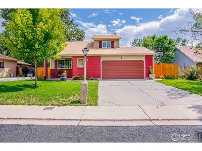 Longmont Single Family Home For Sale: 718 Elliott St