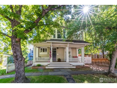 Boulder Single Family Home For Sale: 2420 10th St