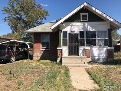 Fort Lupton Single Family Home For Sale: 928 Park Ave