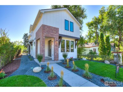 Fort Collins Single Family Home For Sale: 346 N Loomis Ave