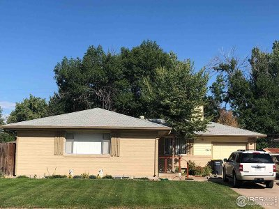 Greeley Single Family Home For Sale: 2612 16th Ave