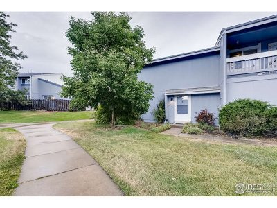 Boulder CO Condo/Townhouse For Sale: $450,000