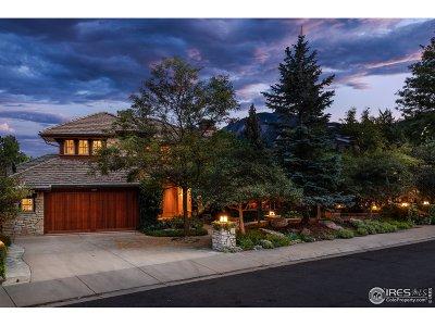 Boulder Single Family Home For Sale: 1720 Sunset Blvd