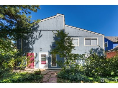 Boulder Condo/Townhouse For Sale: 1717 Spruce St #1