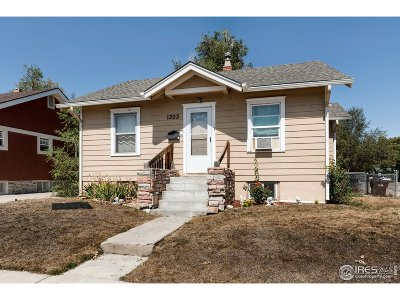 Greeley Single Family Home For Sale: 1303 7th St