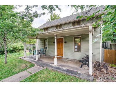 Boulder Single Family Home For Sale: 1544 9th St