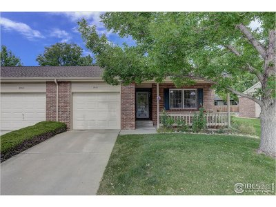 Longmont CO Condo/Townhouse For Sale: $329,900
