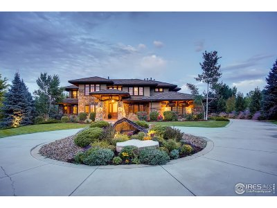 Boulder Single Family Home For Sale: 1200 White Hawk Ranch Dr