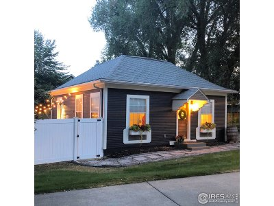 Fort Collins Single Family Home For Sale: 813 E Prospect Rd