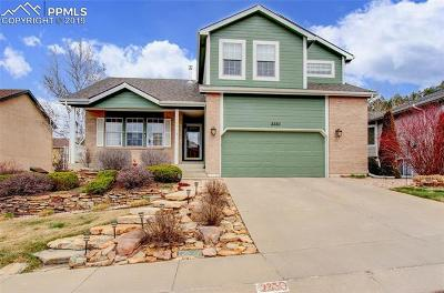 Colorado Springs Single Family Home For Sale: 2350 Sawgrass Court