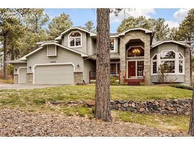 Monument Single Family Home For Sale: 19960 Chisholm Trail