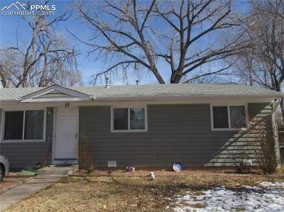 Colorado Springs Single Family Home For Sale: 57 Security Boulevard