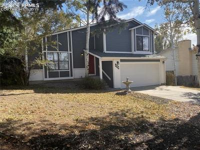 Colorado Springs Single Family Home For Sale: 4760 W Old Farm Circle
