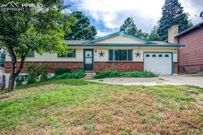 Colorado Springs CO Single Family Home For Sale: $269,900