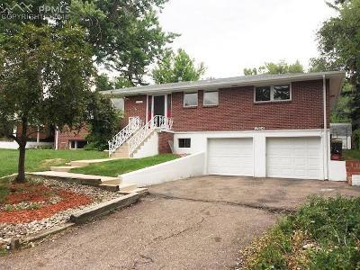 Colorado Springs Single Family Home For Sale: 1304 Lazy Lane