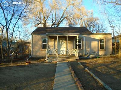 Colorado Springs Single Family Home For Sale: 2534 E St Vrain Street
