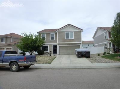 Fountain Single Family Home For Sale: 7874 Campground Drive