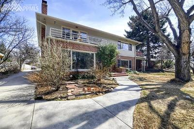 Colorado Springs Single Family Home For Sale: 1729 Alamo Avenue