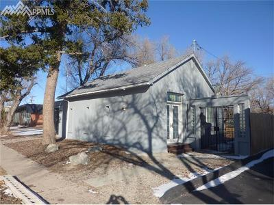 Colorado Springs Single Family Home For Sale: 2113 N Weber Street