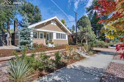Colorado Springs Single Family Home For Sale: 1014 E Willamette Avenue