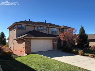 Colorado Springs Single Family Home For Sale: 3123 Deergrass Place