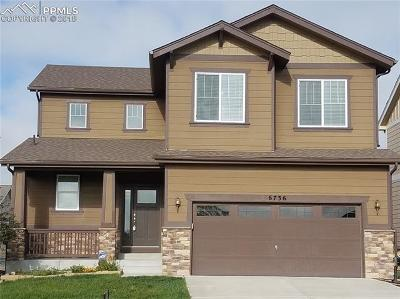 Single Family Home For Sale: 6736 Myrtle Creek Drive