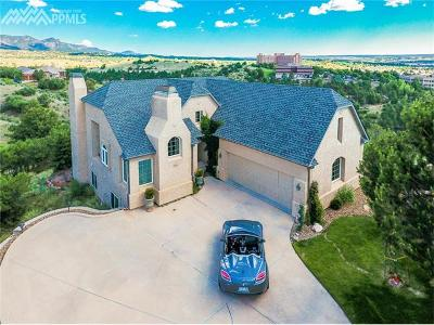 Colorado Springs Single Family Home For Sale: 1525 Golden Hills Road