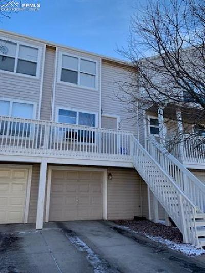 Colorado Springs Condo/Townhouse For Sale: 539 Shady Crest Circle