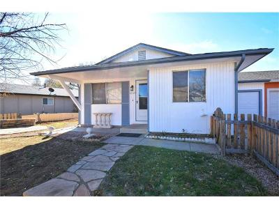 Colorado Springs Single Family Home For Sale: 1845 Monterey Road