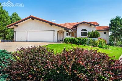 Colorado Springs Single Family Home For Sale: 2830 Andromeda Drive