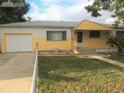 Colorado Springs Single Family Home For Sale: 518 W Ramona Avenue