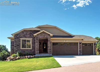 Colorado Springs CO Single Family Home For Sale: $655,000