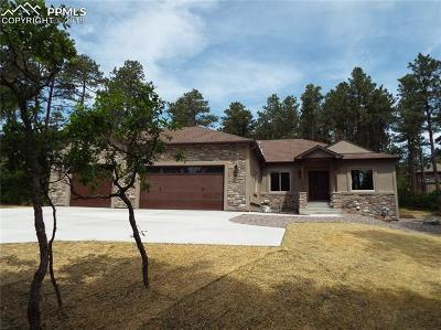Monument Single Family Home For Sale: 1270 Fallen Tree Road
