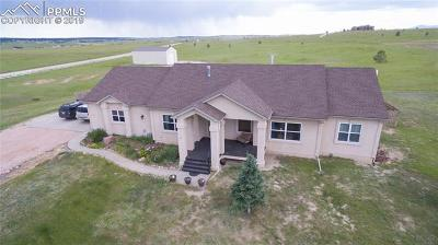 El Paso County Single Family Home For Sale: 6015 Filly Lane
