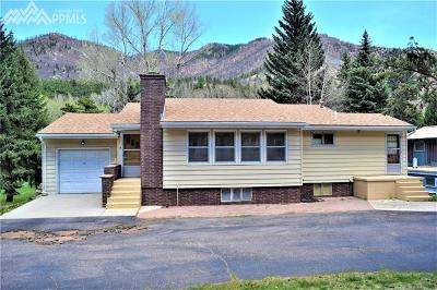 El Paso County Single Family Home For Sale: 8610 Chipita Park Road