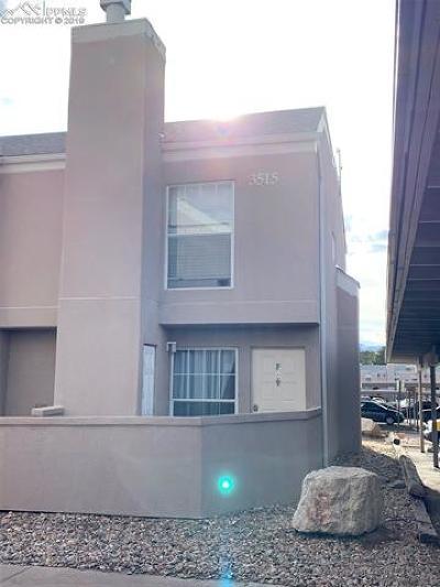 Condo/Townhouse For Sale: 3515 Rebecca Lane #F