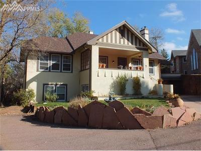 Manitou Springs Single Family Home For Sale: 7 Pawnee Avenue