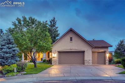 Colorado Springs Single Family Home For Sale: 5707 Creekwood Court
