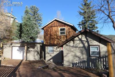 Manitou Springs Single Family Home For Sale: 134 South Path Road